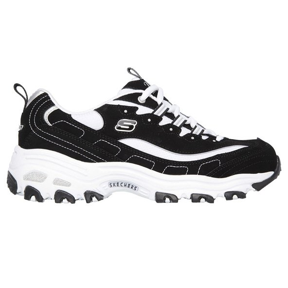 Skechers D'Lites Women's Shoe Black/White
