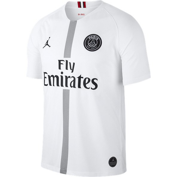 Jordan PSG 18 CL Away Jersey White/Black
