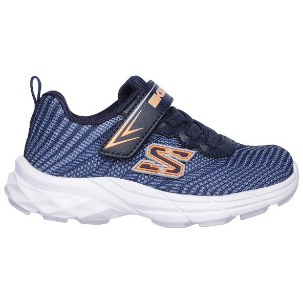 Skechers Eclipsor Infant Boys Trainer Navy/Sil