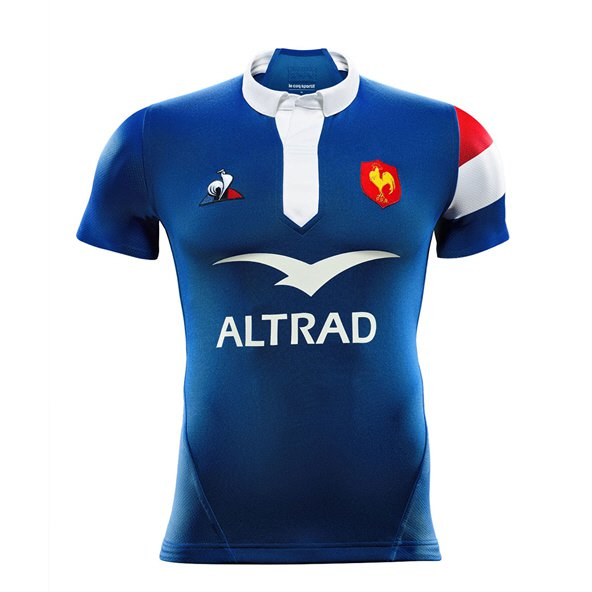 Le Coq Sportif France 2018 Men's Home Jersey, Blue