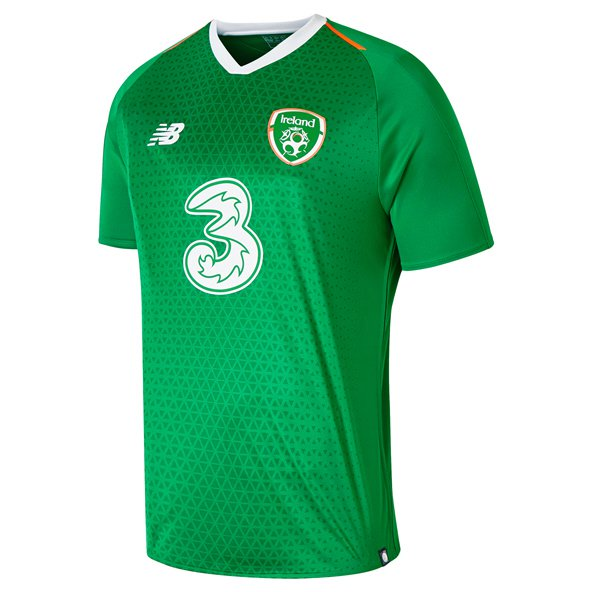NB Ireland FAI 2019 Home Jersey, Green