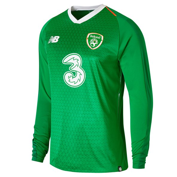 NB Ireland FAI 2019 Home LS Jersey, Green
