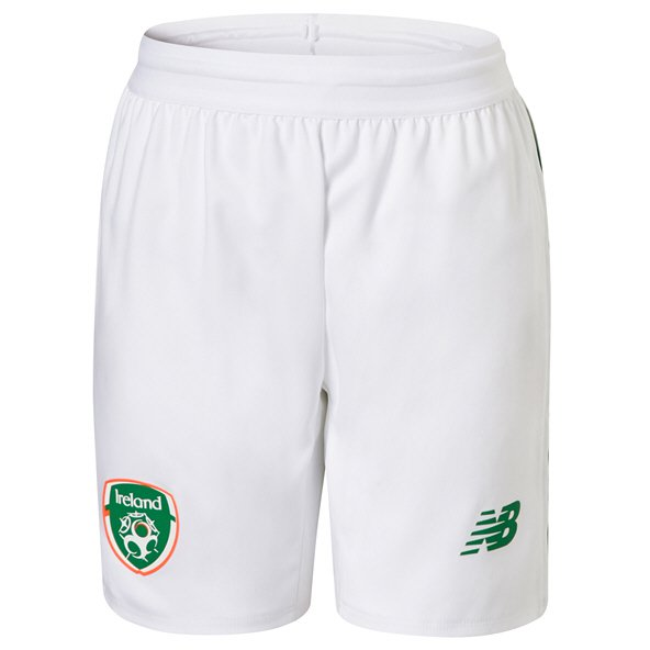 NB Ireland FAI 2019 Home Short, White