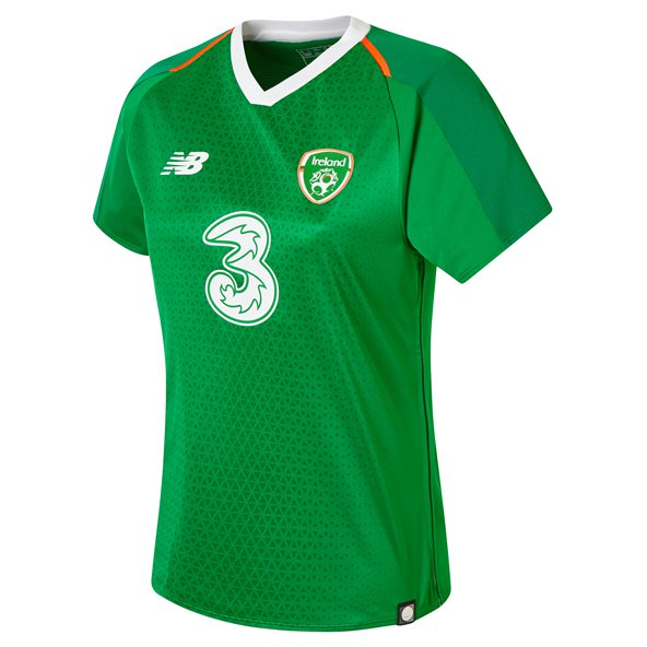 NB Ireland FAI 2019 Women's Home Jersey, Green
