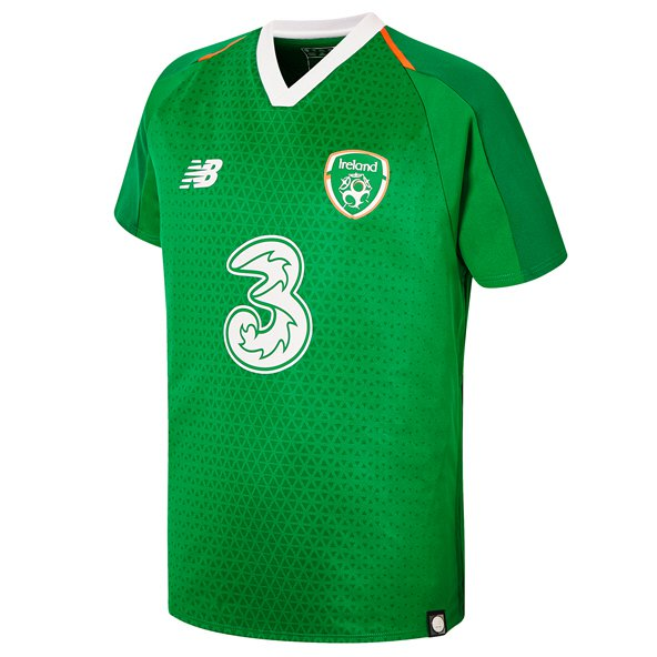 NB Ireland FAI 2019 Kids' Home Jersey, Green