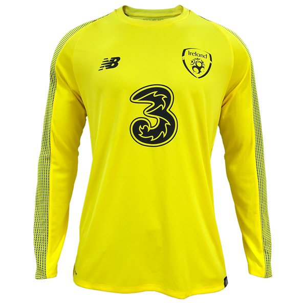 NB Ireland FAI 2019 Home Goalkeeper Jersey, Yellow