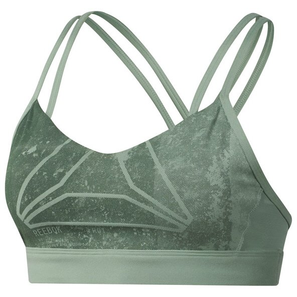 Reebok Hero Strappy Women's Bra Green