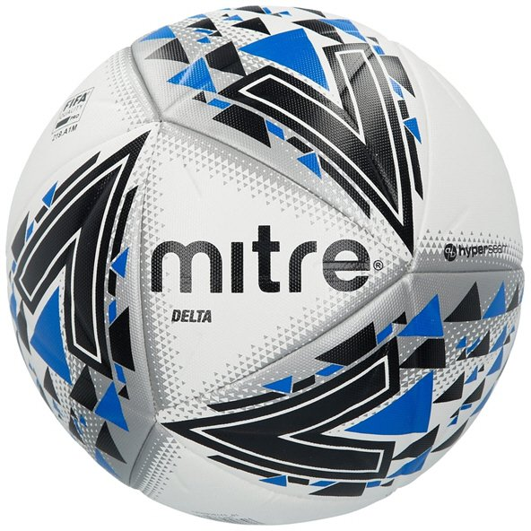 Mitre Delta Ball White/Black