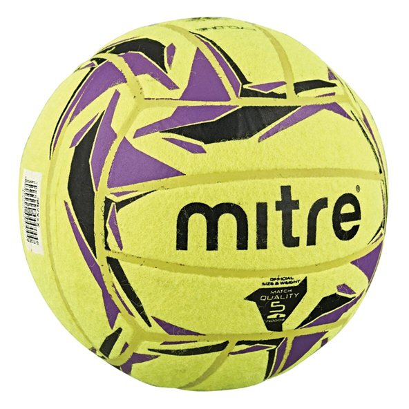 Mitre Cyclone Indoor Football, Yellow