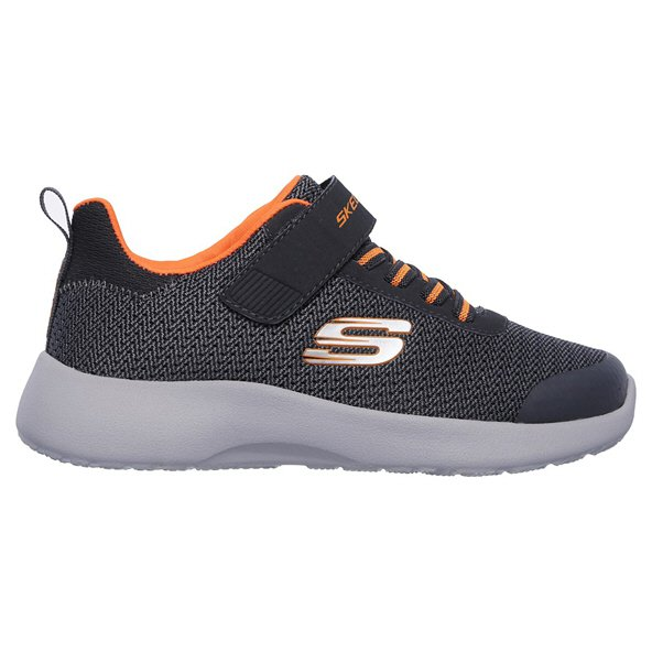 Skechers Dynamight Junior Boys' Trainer, Grey