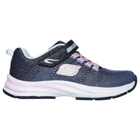 Skechers Double Strides Girls trainer Navy/Pink