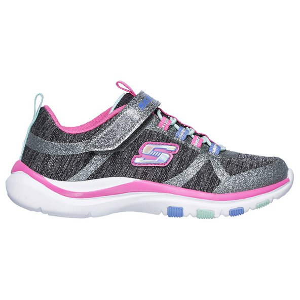 Skechers Trainer Lite Junior Girls' Trainer, Grey