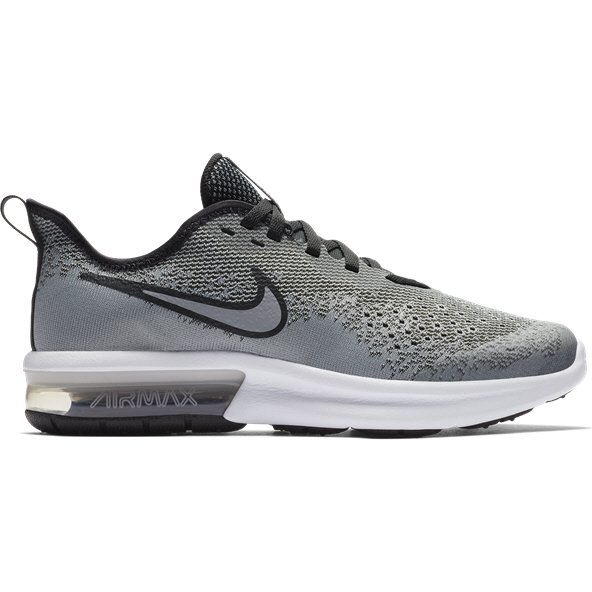 Nike Air Max Sequent 4 Boys' Trainer, Grey