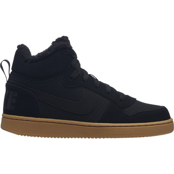 Nike Court Borough Mid Boys' Trainer, Black
