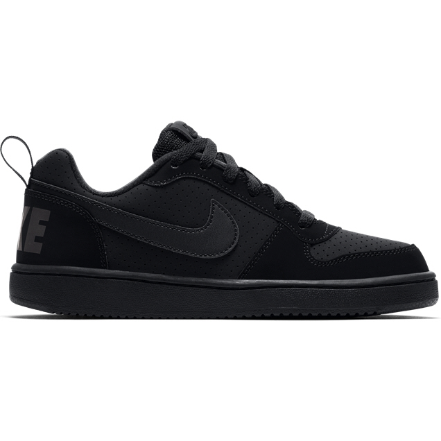 Nike Court Borough Low Kids' Trainer, Black