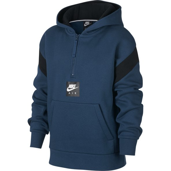 Nike Air Boys ½-Zip Pull Over, Blue