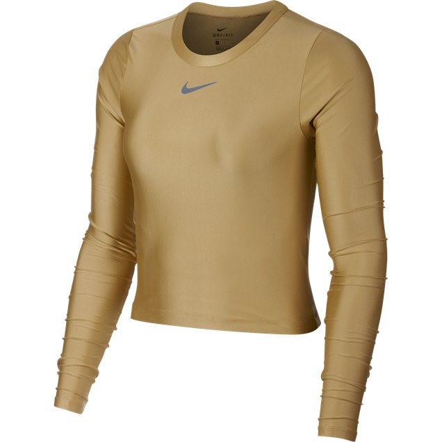 46c09eca3797cf ... Nike Speed Long Sleeve Women s Crop Top