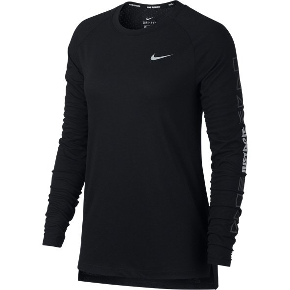 Nike Tailwind Women's Running Top, Black