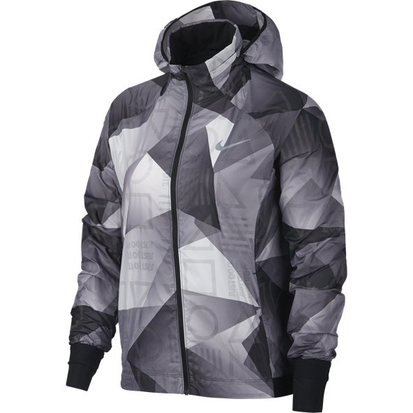 Nike Flash Print Shield Women's Jacket, Black