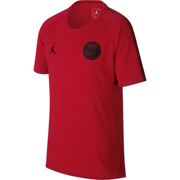 Jordan PSG 18 Squad Kids Tee Red