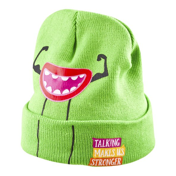 ISPCC Headbomz Kids' Beanie, Green