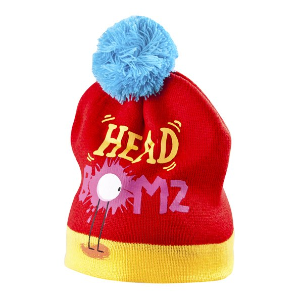ISPCC Headbomz Kids' Beanie, Red