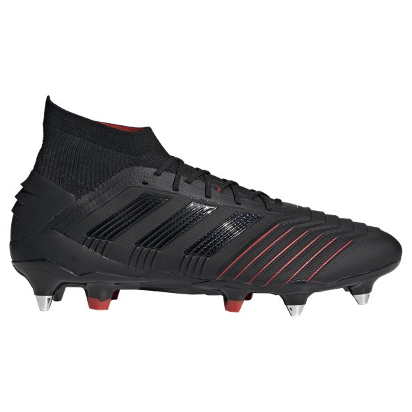 adidas Predator 19.1 SG Football Boot, Black