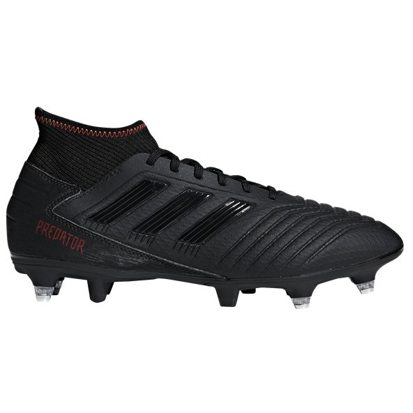 adidas Predator 19.3 SG Football Boot, Black