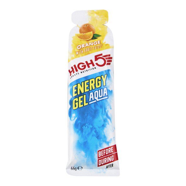 High 5 Nutrition Aqua Energy Gel Orange