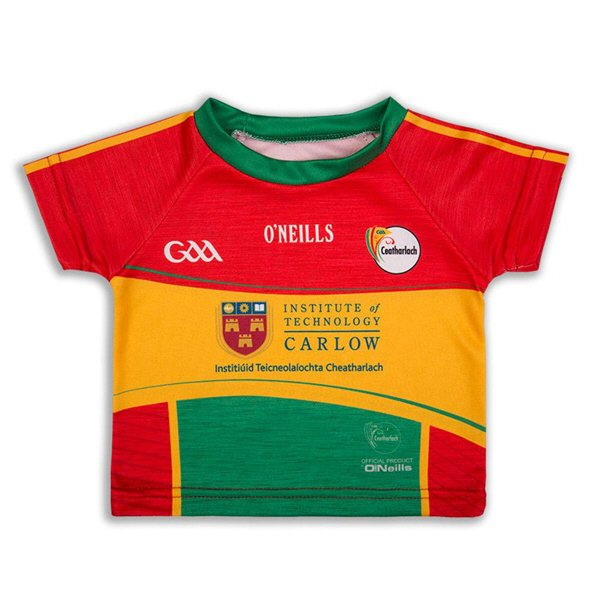 O'Neills Carlow 18 Inf Home Jersey Red