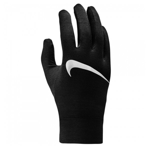 Nike Dry Running Mens Gloves Blk