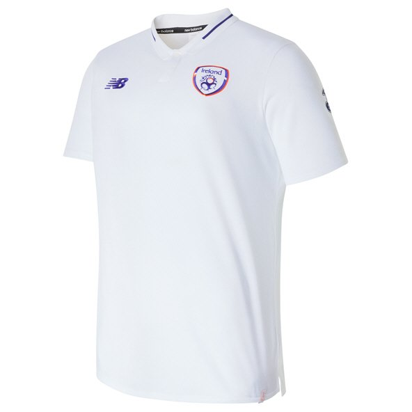 NB FAI 2019 Elite Leisure Polo, White