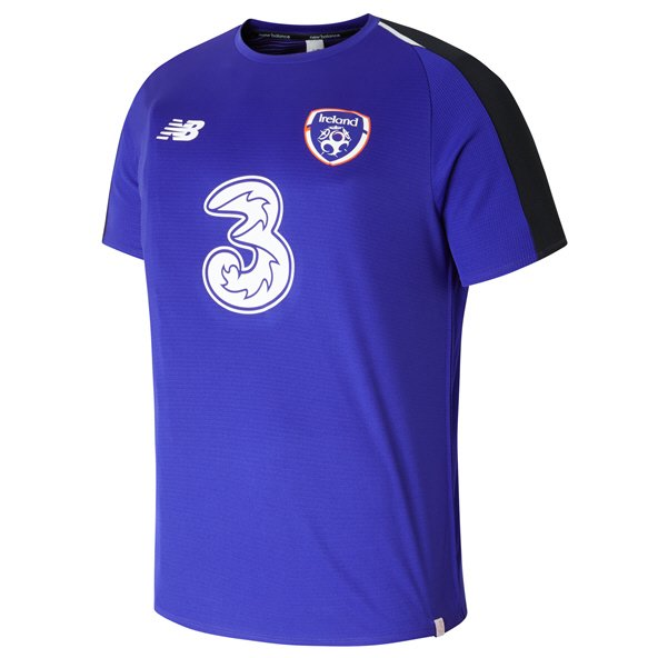 New Balance FAI Elite Training Kids' Matchday Jersey, Purple