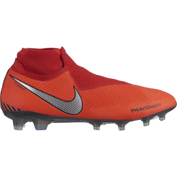 Nike Phantom Vision Elite FG Football Boot, Red