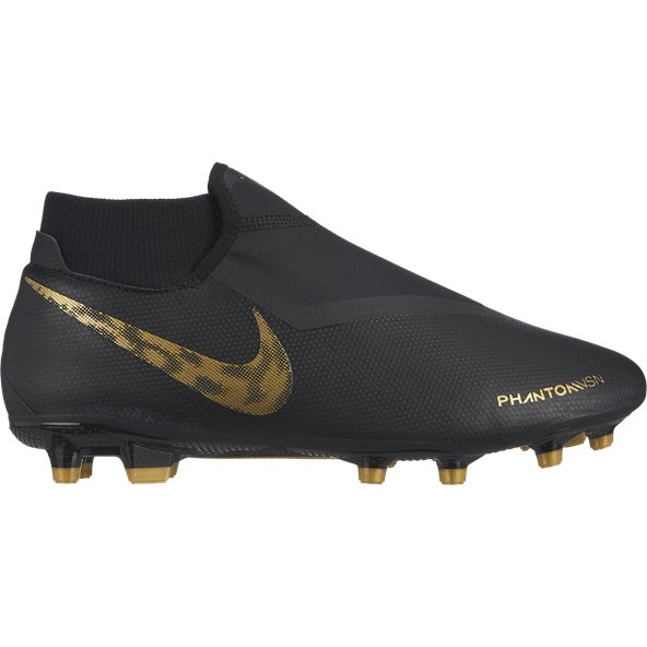 Nike Phantom VSN Academy DF FG Football Boot, Black