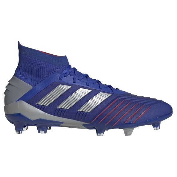 adidas Predator 19.1 FG Football Boot, Blue