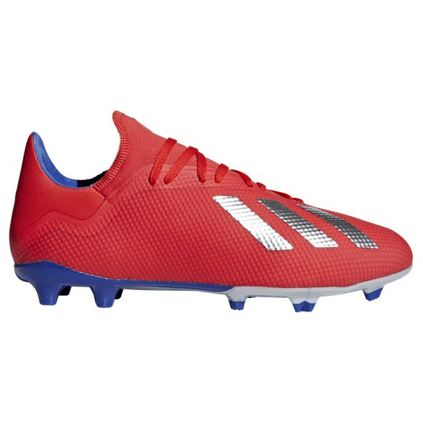 adidas X 18.3 Firm Ground Football Boot, Red