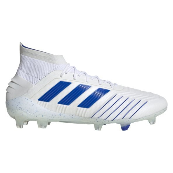 adidas Predator 19.1 FG Football Boot, White