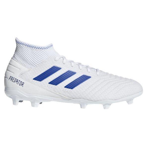 adidas Predator 19.3 FG Football Boot, White