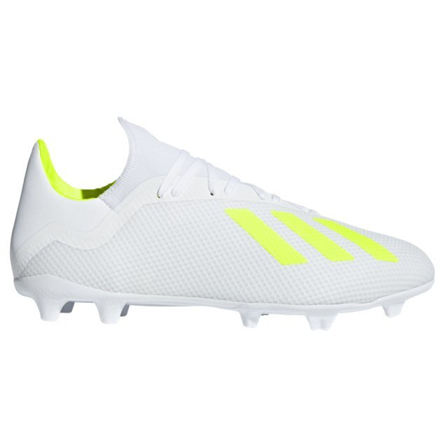 eb36b61b adidas X 18.3 FG Football Boot, White | Elverys Site