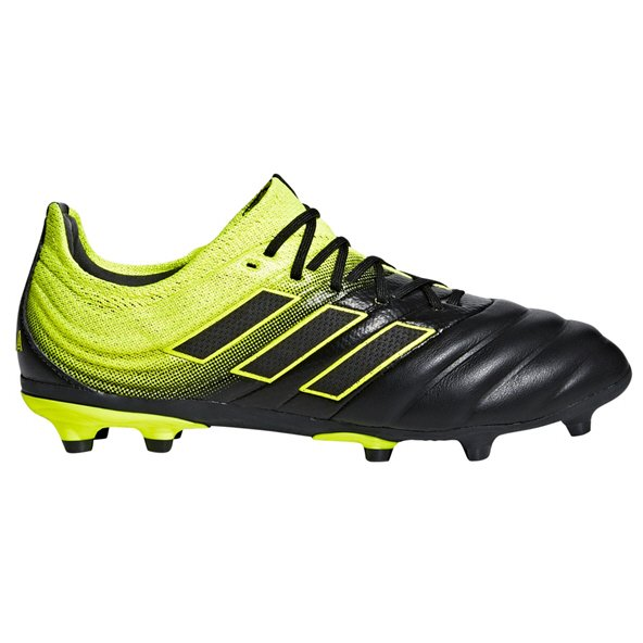 adidas Copa 19.1 FG Kids' Football Boot, Black