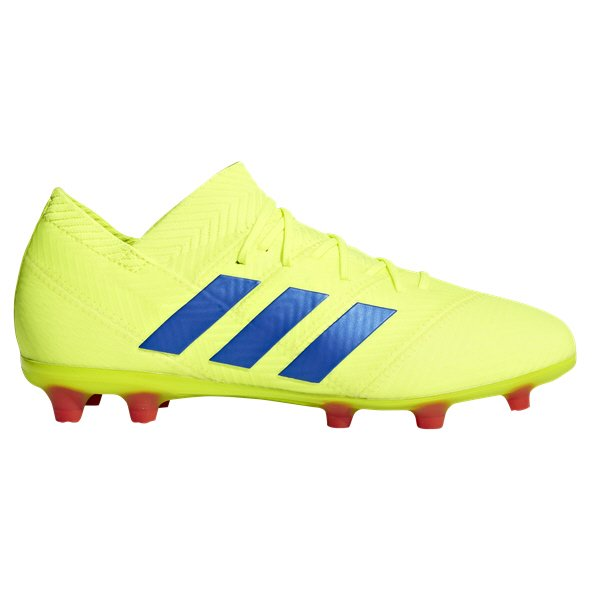 adidas Nemeziz 18.1 FG Kids' Football Boot, Yellow