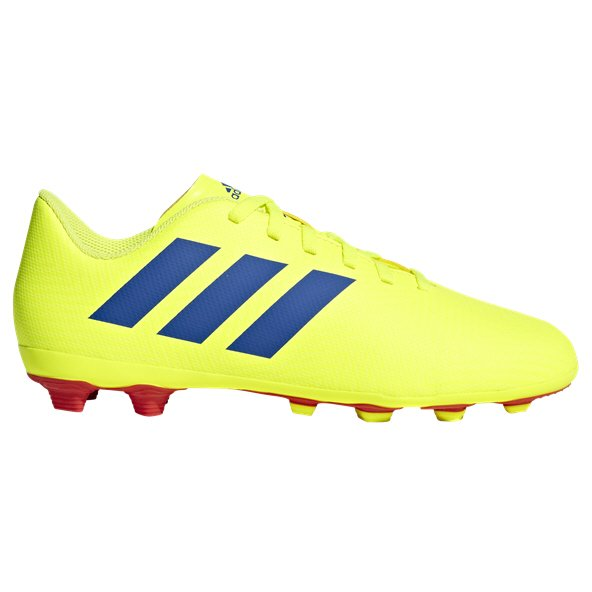 adidas Nemeziz 18.4 FG Kids' Football Boot, Yellow