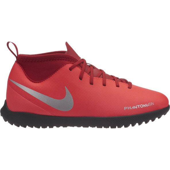 Nike Phantom Vision Club Kids' Astro Boot, Red