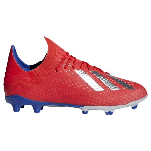 adidas X 18.1 FG Kids' Football Boot, Red