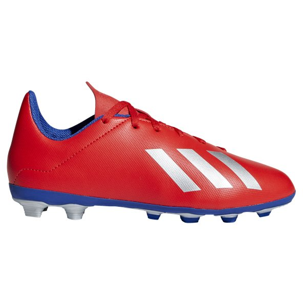 adidas X 18.4 FG Kids' Football Boot, Red