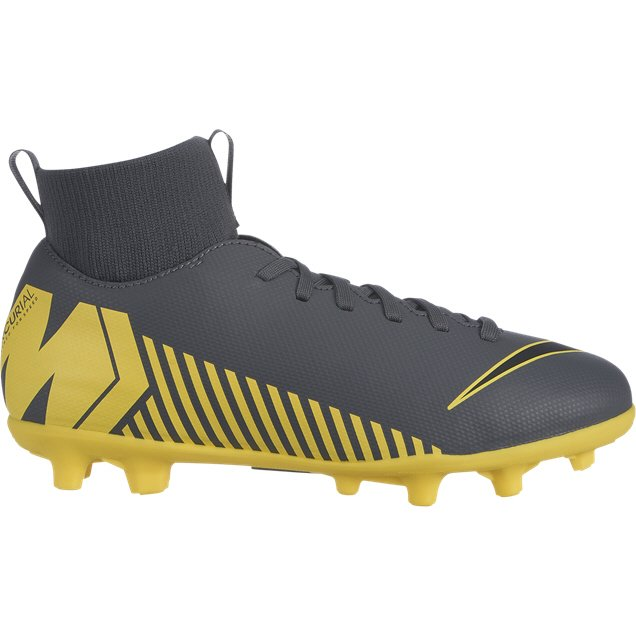 Nike Superfly 6 Club MG Kids' Football Boot, Grey