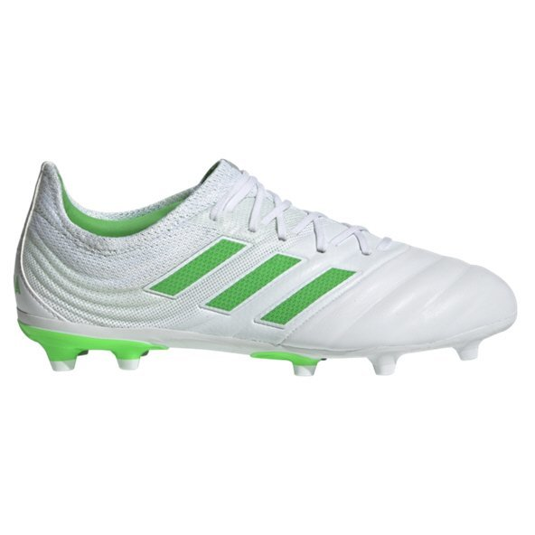 adidas Copa 19.1 FG Kids' Football Boot, White