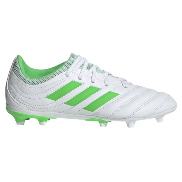 adidas Copa 19.3 FG Kids' Football Boot, White