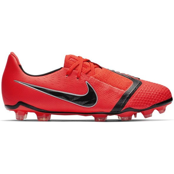 Nike Phantom Vision Kids' FG Football Boot, Red